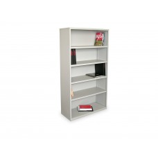 Ensemble Five Shelf Bookcase, 36W x 14D x 27H - Featherstone Finish