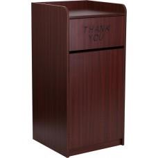 Wood Tray Top Receptacle in Mahogany [MT-M8520-TRA-MAH-GG]