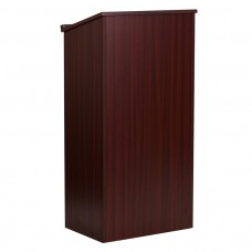 Stand-Up Wood Lectern in Mahogany [MT-M8830-LECT-MAH-GG]