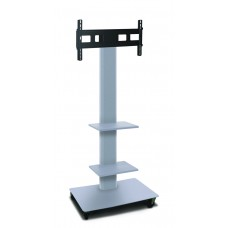 """Marvel Vizion TV/Monitor Stand and Mount with Two Equipment Shelves (holds 35"""" - 55"""" TV)"""