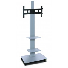 """Marvel Vizion TV/Monitor Stand and Mount with Two Equipment Shelves and Camera Shelf (holds 35"""" - 55"""" TV)"""
