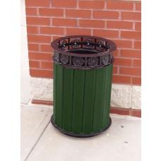 Jamestown Receptacle - Green - 12 Gallon