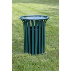 Providence Receptacle - Green - 32 Gallon