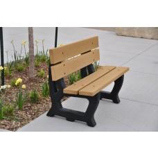 Petrie Bench - Cedar - 4 Foot