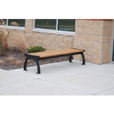 Heritage Backless Bench - Cedar - 6 Foot