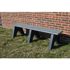 Sport Bench - Gray - 6 Foot