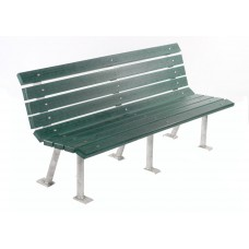 St. Pete Bench - Green - 6 Foot