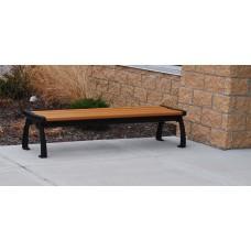 Heritage Backless Bench - Cedar - 8 Foot