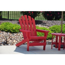 Cape Cod Adirondack Chair - Red