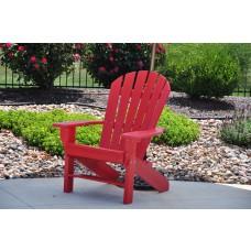 Seaside Adirondack Chair - Red