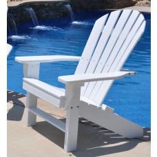 Seaside Adirondack Chair - White