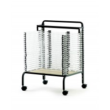 Spring Loaded Paint Drying Rack