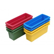 Expanded Storage Royal Reading/Writing Center with 8 Small Tubs