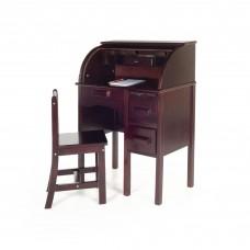 Jr. Roll-Top Desk - Espresso