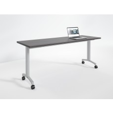 Flip Rectangle Classroom Table with Casters