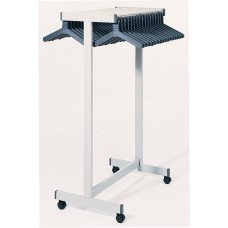 Double Sided Black Floor Rack