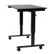 Luxor STANDCF48-BK/BO Crank Adjustable Stand Up Desk
