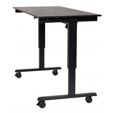 "Luxor STANDE-60  60"" Electric Standing Desk Black/Black"