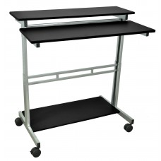 Luxor Stand Up Desk - Black