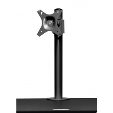 Single LCD Monitor Arm for Sit to Stand Systems
