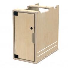 TrueModern® Lockable Computer Bay - Left
