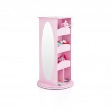 Rotating Dress Up Storage Center - Pink