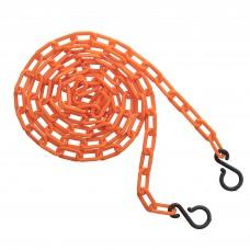 "2"" 10' bag of chain - orange"