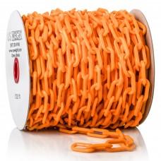 "2"" 125' bag of chain - orange"