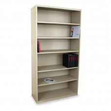 Heavy Duty 6 Shelf Cabinet, Putty