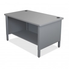 Marvel Utility Sorting Table with Shelf, 48W x 3D x 28-36H - Gray