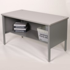 Marvel Utility Sorting Table with Shelf, 60W x 3D x 28-36H - Gray