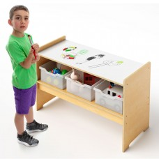 Toddler Play Table with Markerboard Top