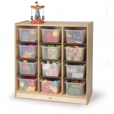 12 Cubby Storage Cabinet