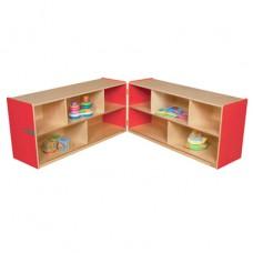 "Strawberry Red™ Folding Storage, 23-1/2""H"
