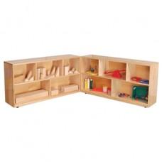 "Folding Storage, 23-1/2""H, Maple"