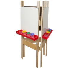 3-SidedAdjustable Easel with Markerboard