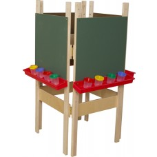 4-Sided Adjustable Easel with Chalkboard