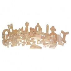 Kindergarten Blocks - 24 Shapes, 183 Pieces