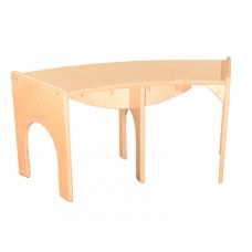 """Curved Bench 48""""W x 10""""H"""