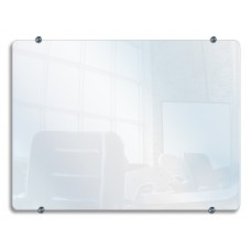 "Luxor Wall-Mounted Glass Board 40""W x 30""H"