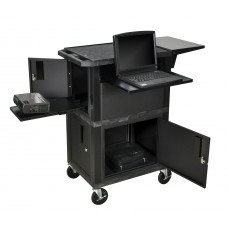 Luxor Tuffy Black Presentation Station