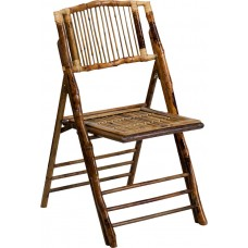 American Champion Bamboo Folding Chair [X-62111-BAM-GG]