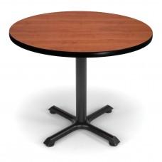 "OFM Round Multi-Purpose Table, 36"", Cherry"