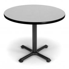 """OFM Round Multi-Purpose Table, 36"""", Gray Nebula"""