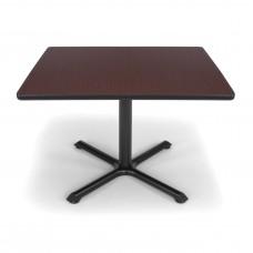 "OFM Square Multi-Purpose Table, 36"", Mahogany"