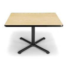 "OFM Square Multi-Purpose Table, 36"", Oak"