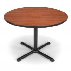 "OFM Round Multi-Purpose Table, 42"", Cherry"