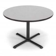 """OFM Round Multi-Purpose Table, 42"""", Gray Nebula"""