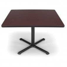 "OFM Square Multi-Purpose Table, 42"", Mahogany"