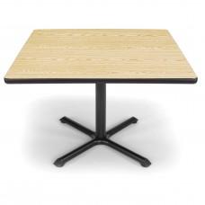 "OFM Square Multi-Purpose Table, 42"", Oak"